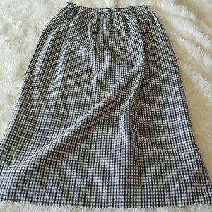 Designer vintage NARDIS wool full length skirt NWT